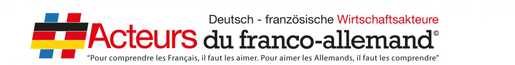 Acteurs du Franco Allemand